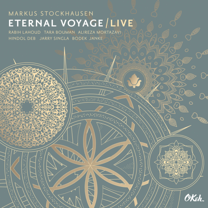 CD Artwork Gestaltung Cover Design booklet design Art Direktion Markus Stockhausen Eternal Voyage live Okeh Sony Music