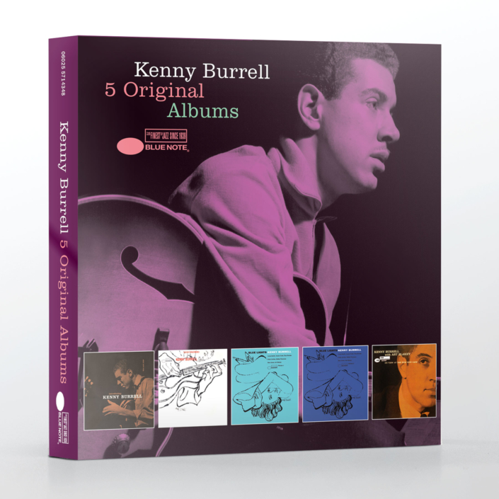 Blue Note 5 Original Albums Cover Artwork Kenny Burrell Art Blakey Herbie Hancock John Scofield