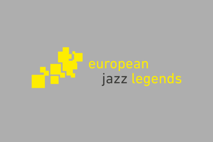 Logo design corporate design Artwork Art Direktion Gestaltung cd reihe european jazz legends Jazzthing Magazin WDR Köln