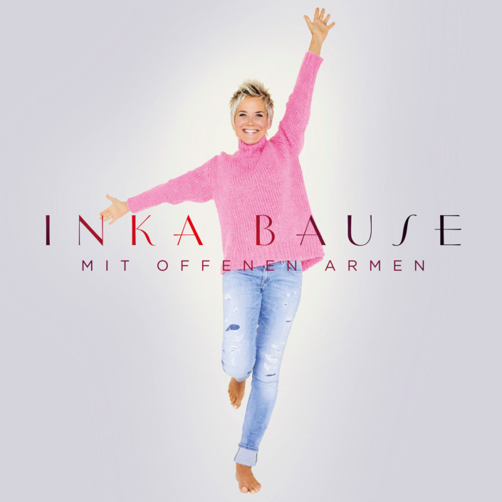 CD Cover Design Artwork Gestaltung Art Direktion Bildbearbeitung Inka Bause Mit offenen Armen Electrola Universal